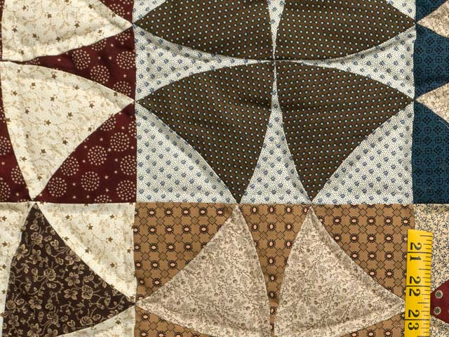 Civil War Colors Winding Ways Quilt Photo 5