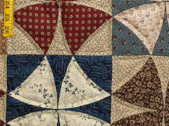 Civil War Colors Winding Ways Quilt Photo 6