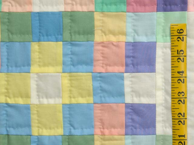 Pastel Triple Irish Chain Quilt Photo 5