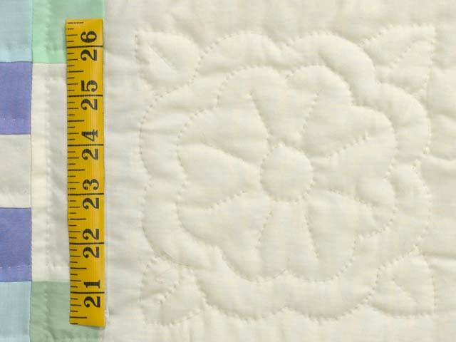 Pastel Triple Irish Chain Quilt Photo 6