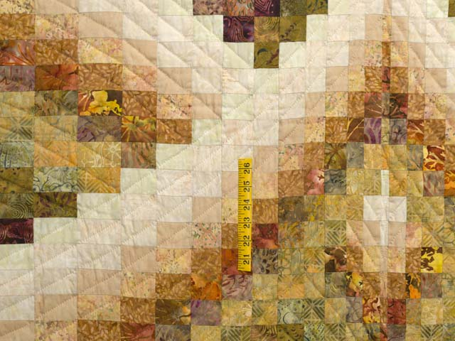 Plum and Gold Lightning Strikes Quilt Photo 4