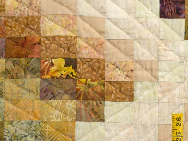 Plum and Gold Lightning Strikes Quilt Photo 5