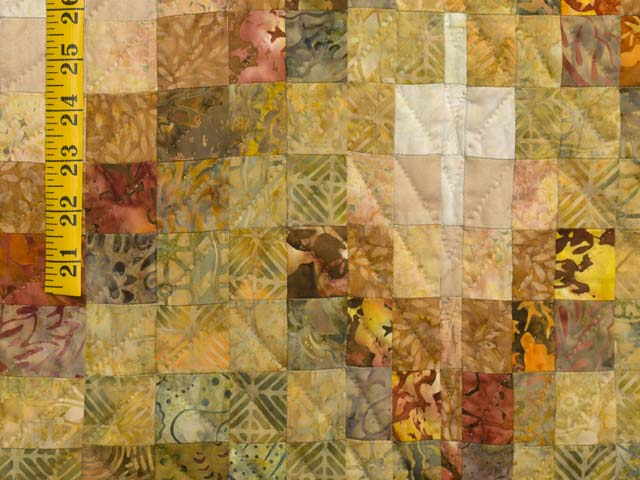 Plum and Gold Lightning Strikes Quilt Photo 6