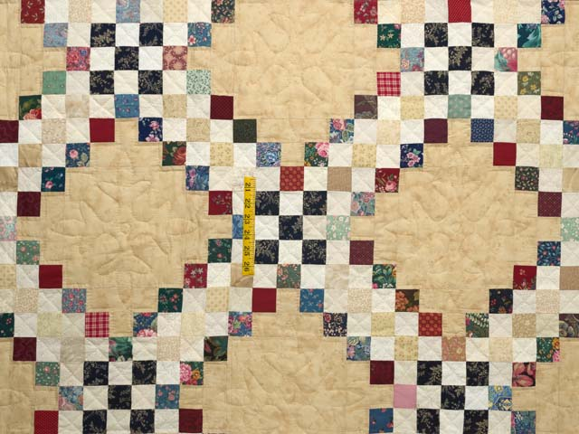 Scrappy Triple Irish Chain Quilt Photo 4