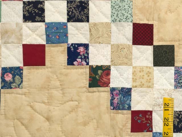 Scrappy Triple Irish Chain Quilt Photo 5