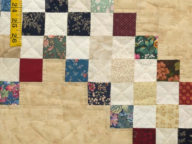 Scrappy Triple Irish Chain Quilt Photo 6