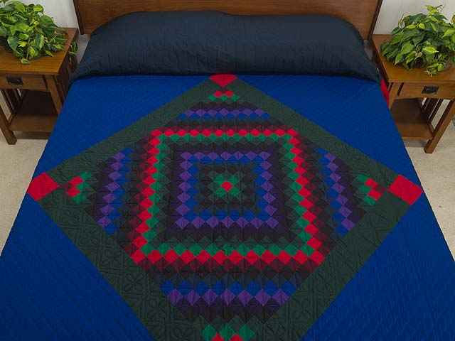 Amish Sunshine Diamond Quilt Photo 1