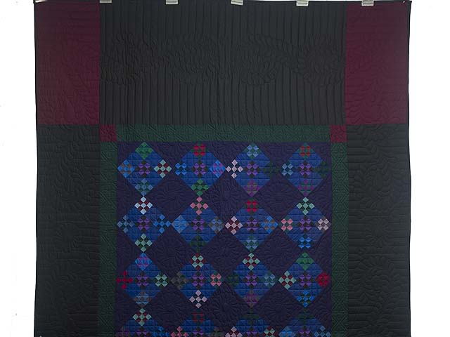 Amish Double Nine Patch Quilt Photo 2