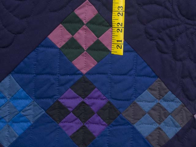 Amish Double Nine Patch Quilt Photo 6