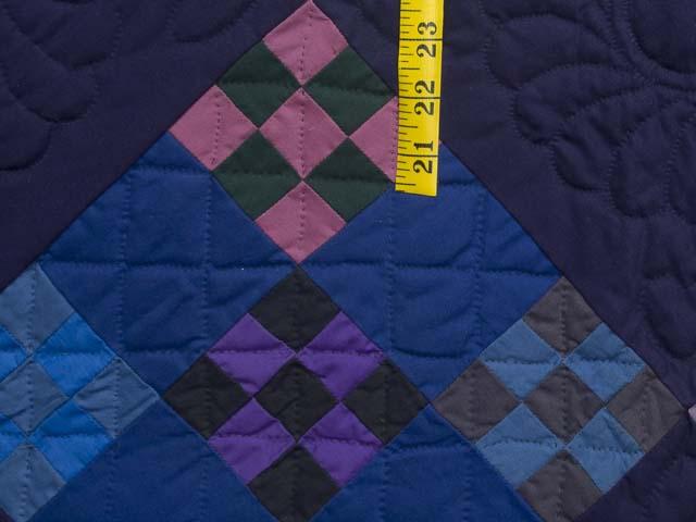 Amish Double Nine Patch Quilt Photo 6