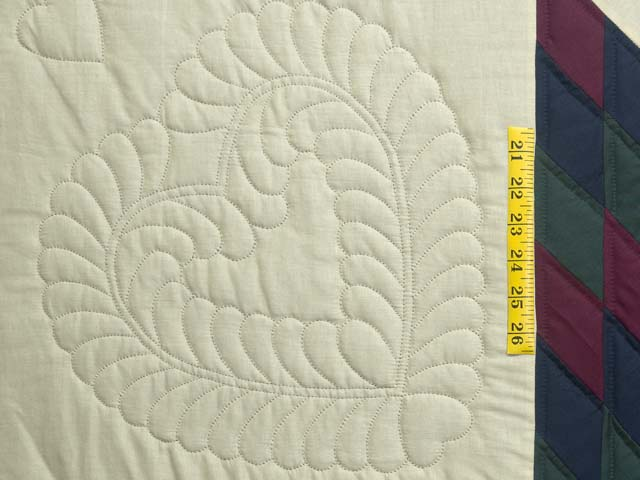 Amish Paper Bag Lone Star Quilt Photo 5