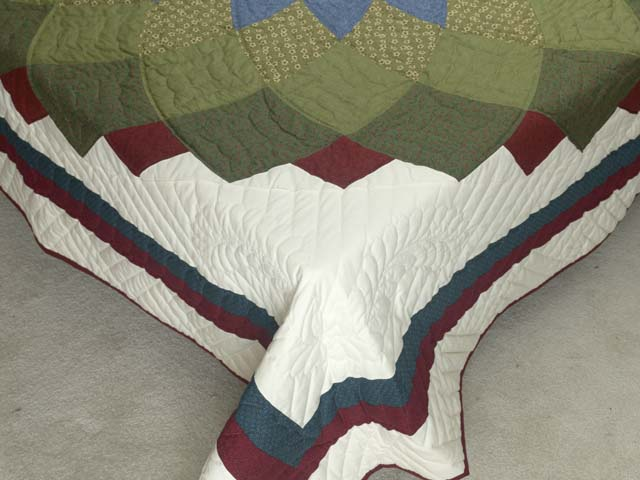 Multicolor Giant Dahlia Quilt Photo 7