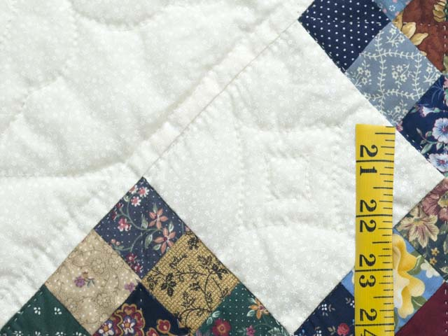 Scrappy Double Nine Patch Quilt Photo 5