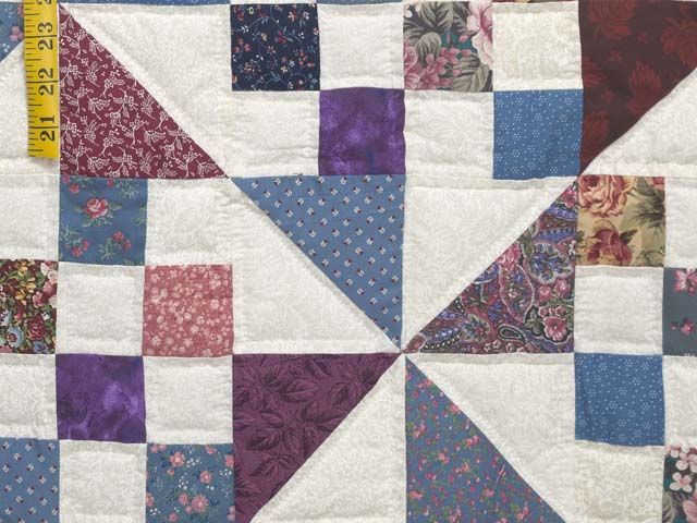 Country Colors Pinwheel Chain Quilt Photo 6