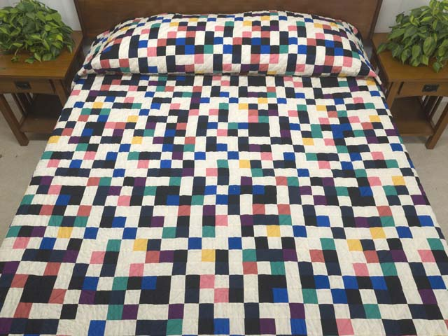 Multicolor Mosaic Quilt Photo 1