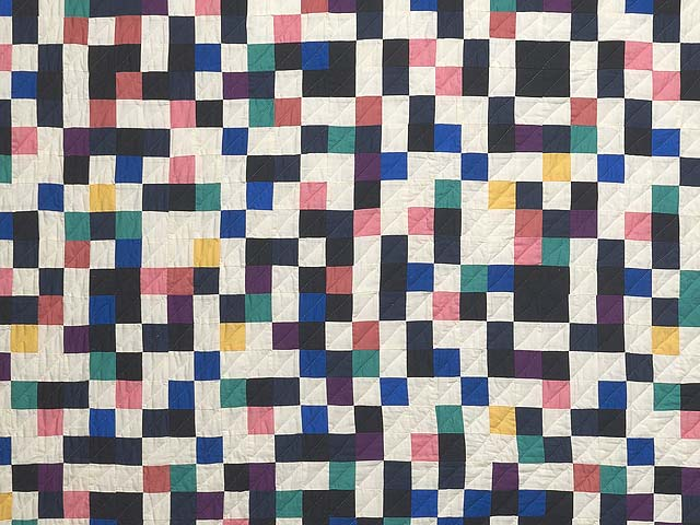 Multicolor Mosaic Quilt Photo 3