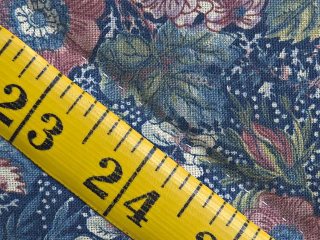 Full Size Blue Yellow and Rose Log Cabin Quilt Photo 8