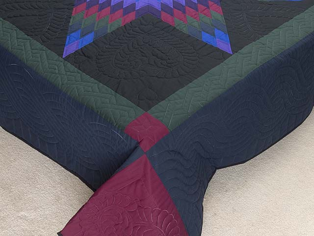 Amish Lone Star Quilt Photo 7