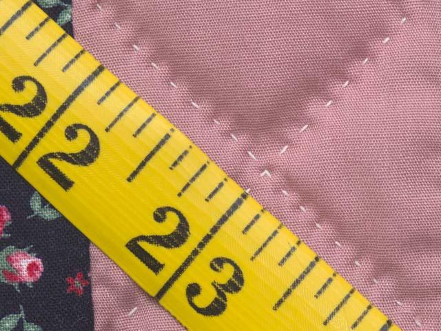 Twin Rose Black and Cream Irish Chain Quilt Photo 8