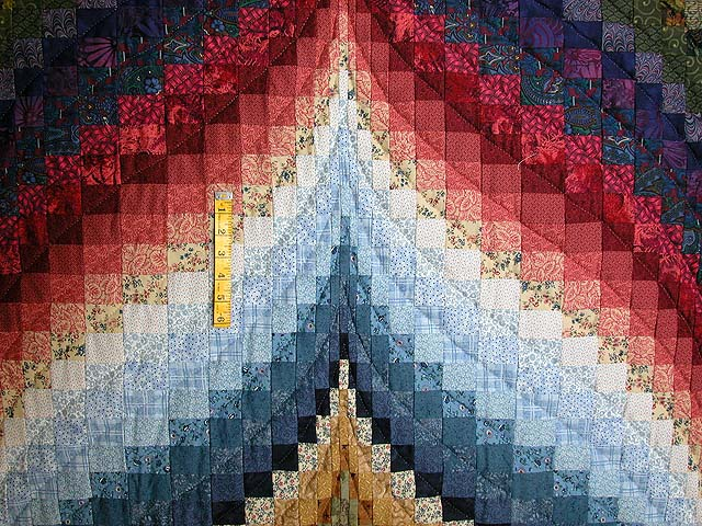 Color Wheel Bargello Quilt Photo 4
