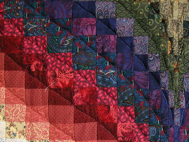 Color Wheel Bargello Quilt Photo 6