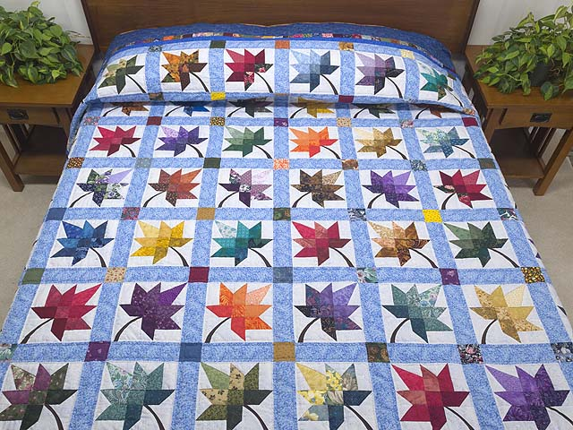 Autumn Splendor Quilt -- gorgeous made with care Amish Quilts from ... : bright quilts - Adamdwight.com