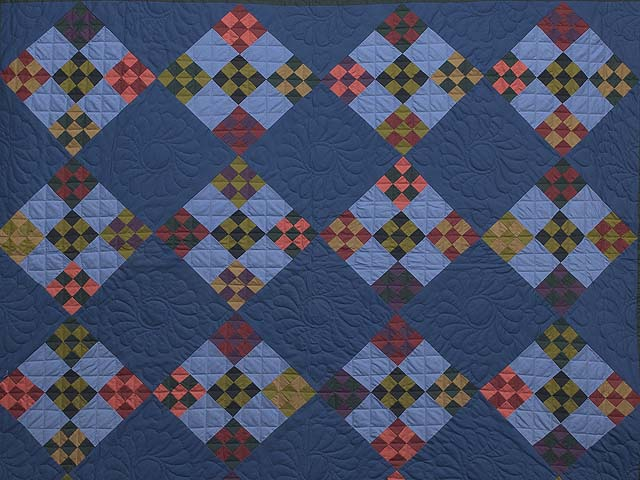 Amish Double Nine Patch Quilt Photo 3