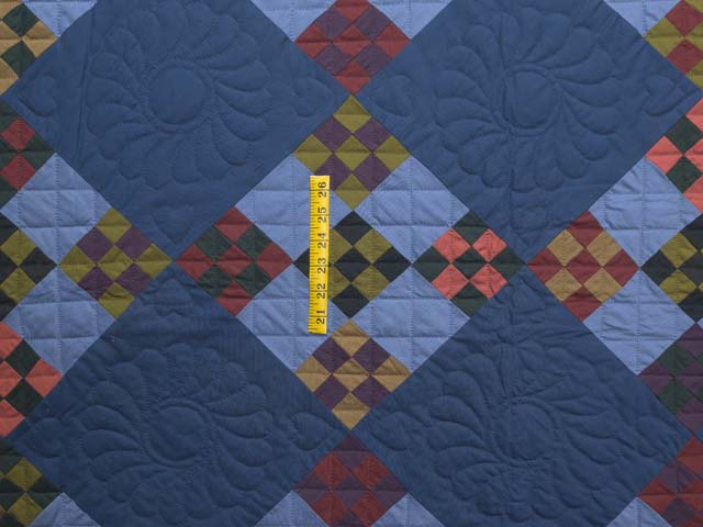Amish Double Nine Patch Quilt Photo 4