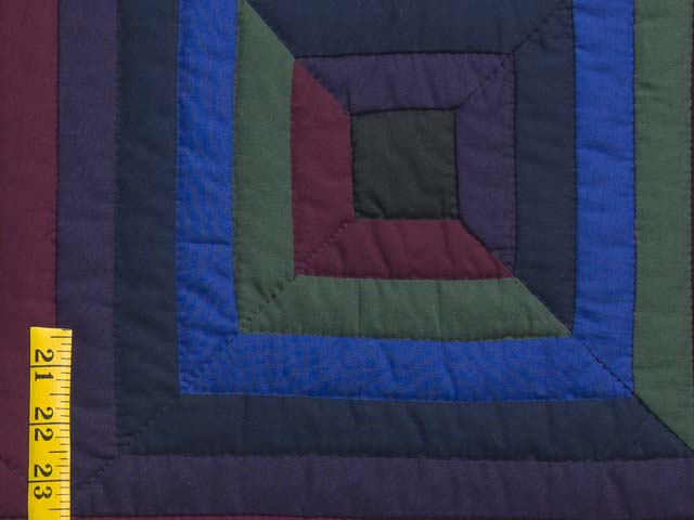 Amish Log Cabin Quilt Photo 6