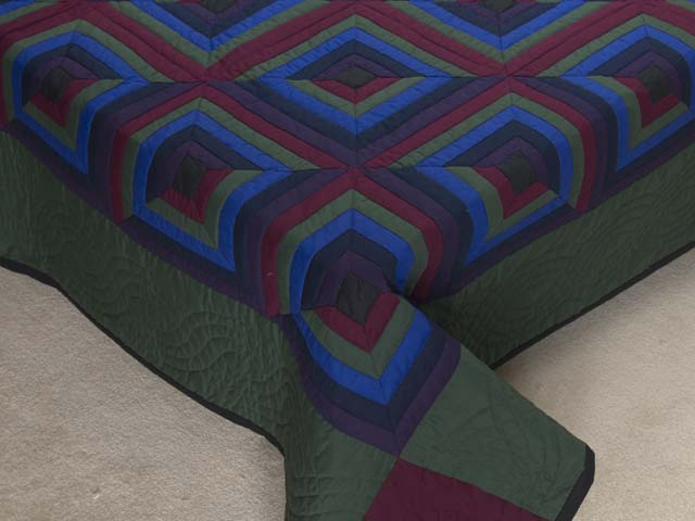 Amish Log Cabin Quilt Photo 7