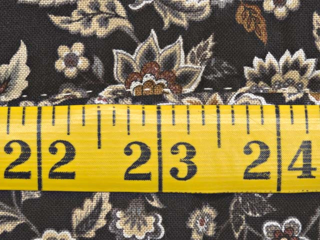 Brown and Golden Tan Dahlia Log Cabin Quilt Photo 8