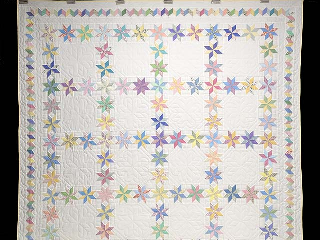 Pastel Starry Path Quilt Photo 2
