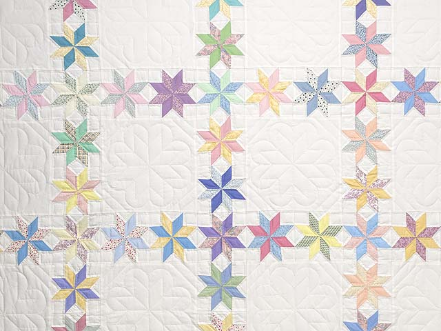 Pastel Starry Path Quilt Photo 3