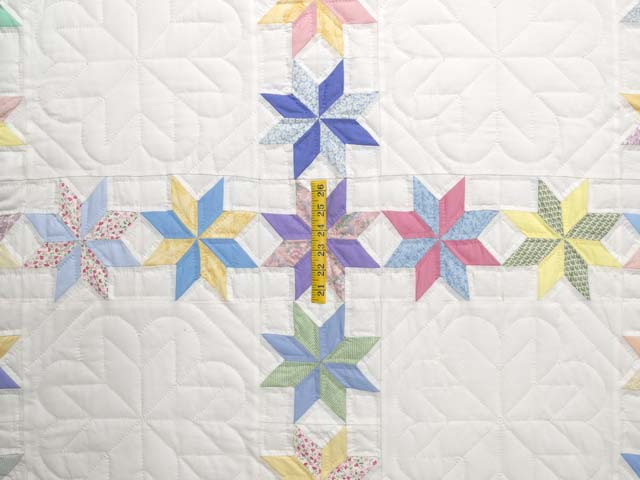 Pastel Starry Path Quilt Photo 4