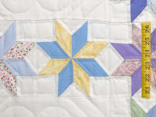 Pastel Starry Path Quilt Photo 5