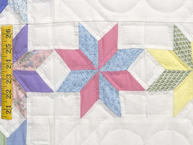 Pastel Starry Path Quilt Photo 6