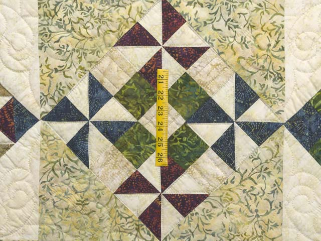 Full Size Batik Patchwork Sampler Quilt Photo 5
