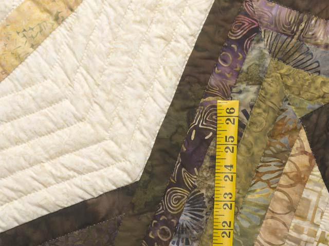 King Hand Painted Star Spin Quilt Photo 6