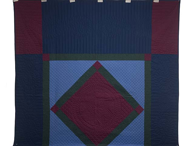 Amish Center Diamond Quilt Photo 2