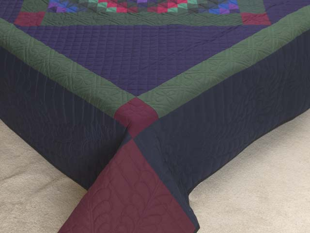 Amish Sunshine Diamond Quilt Photo 7