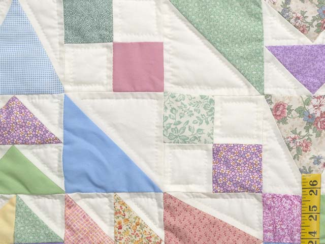 Pastel Faceted Jewel Quilt Photo 5