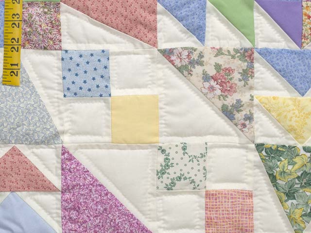 Pastel Faceted Jewel Quilt Photo 6