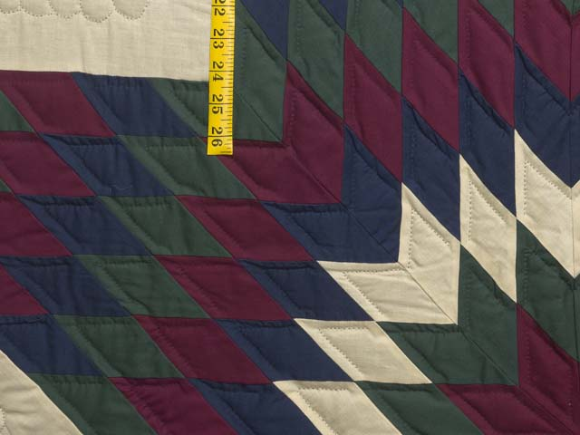 Amish Paper Bag Lone Star Quilt Photo 6