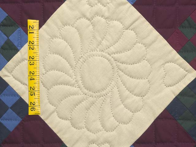Amish Paper Bag Double Nine Patch Quilt Photo 6