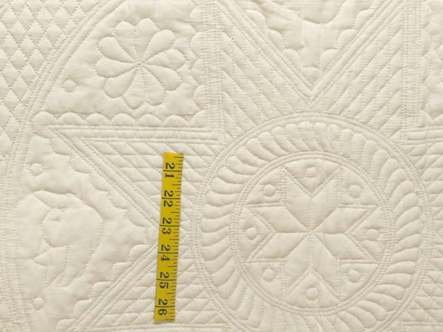 King All-Quilted Heirloom Quilt Photo 4