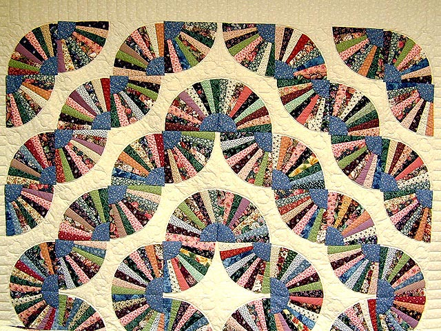 Grandmothers Fan Quilt Photo 2