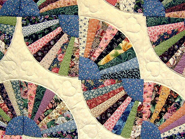 Grandmothers Fan Quilt Photo 3