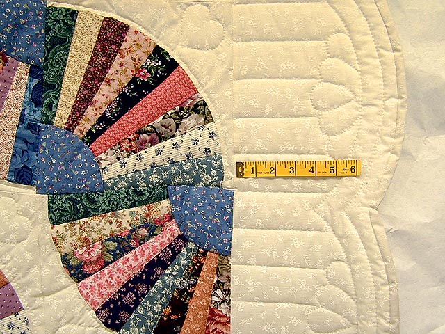 Grandmothers Fan Quilt Photo 4