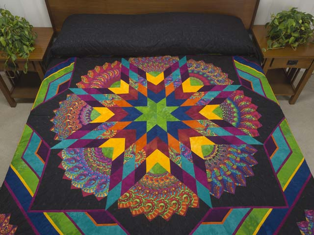 King Bright Bertha Quilt Photo 1