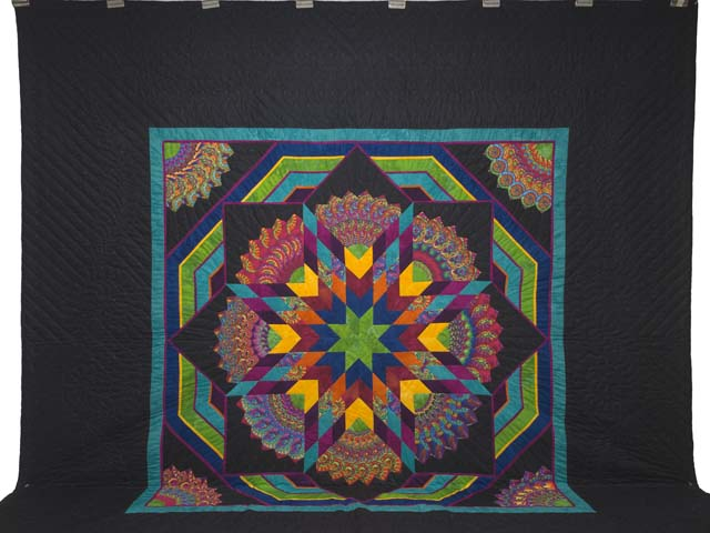 King Bright Bertha Quilt Photo 2